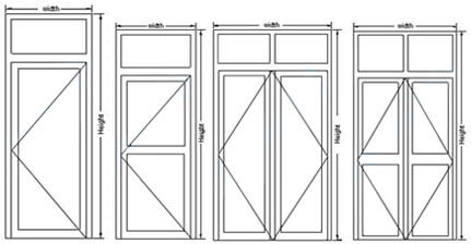 casement door
